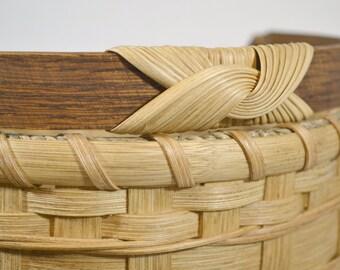 "BASKET PATTERN ""Tessa"" Farmer's Market or Vegetable Garden Basket"