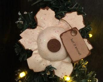 Primitive Snowflake Ornament