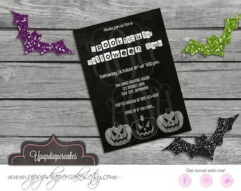 Halloween Invitation--Children Halloween--Halloween Birthday Invitation--Halloween Invite--Digital Invitation--Costume Party--Printable--DIY