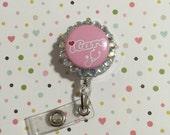 ID Badge clip - I Care
