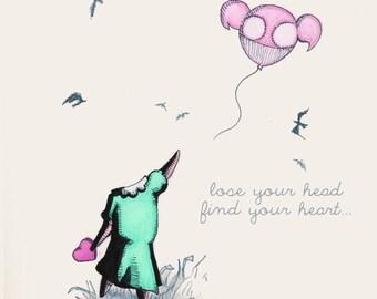 Lose Your Head Fine Art Print