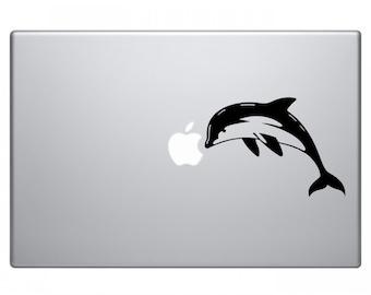 Dolphin Macbook Decal Macbook Sticker Laptop Decal Laptop Stickers Stickers Macbook