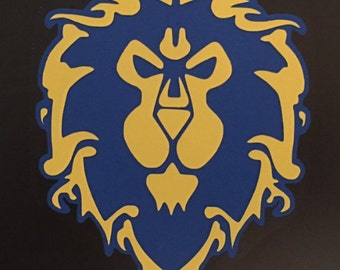 WoW Alliance Decal