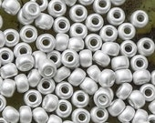 8/0 Frosted Sterling Silver Plated Miyuki Seed Bead - 1756 -8/0 Miyuki Color # 8-961F - Miyuki 961F