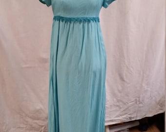 charming aqua 60's dress