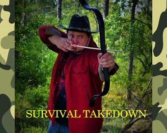 Survival Takedown Black Tactical Recurve (40#)