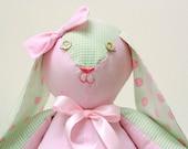Custom Made Memory Rabbit Personalized Baby Gift Baby Memory Keepsake Memory Animal Memory Bunny Custom Made Stuffed Animal Stuffed Bunny