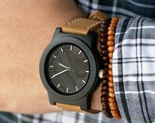 Wooden Watch, Wood Watch Men, Mens Wood Watch - BRLY-L