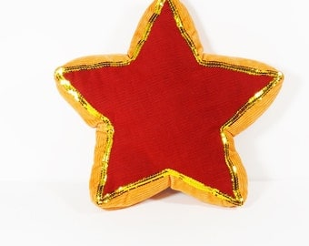 Corduroy Star Pillow - Superstar Pillow