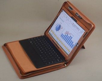Leather Professional Microsoft Surface Pro Portfolio Carrying