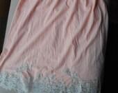 Pink half slip by Van Raalte size Med