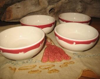 Soup restaurant porcelain bowls.