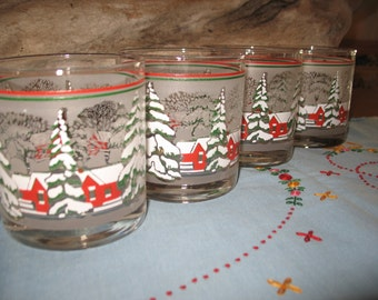 4 glasses. Of the holiday season.