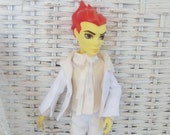 Monster Boy Doll White Suit for Wedding MH Limited Edition
