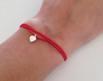 Wish bracelet, string bracelet, Lucky bracelet, Amulet bracelet, Friendship bracelet, minimalist bracelet, gift for her under 10 USD