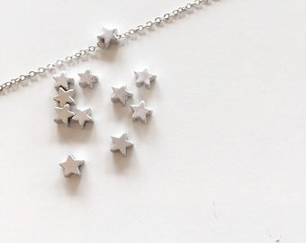 Tiny Star necklace - Gold Tiny star - Silver Star necklace - Dainty everyday jewelry - Minimalist jewelry