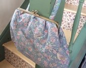 Vintage Floral Pouch Bag - Retro Boots Toiletries Bag - Makeup and Jewellery Clutch -  Vintage Boots the Chemists