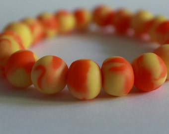 Pastel Orange and Yellow