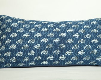 Indigo King Paisley Pillow Shams