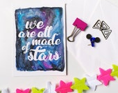 We Are All Made of Stars - Postcard