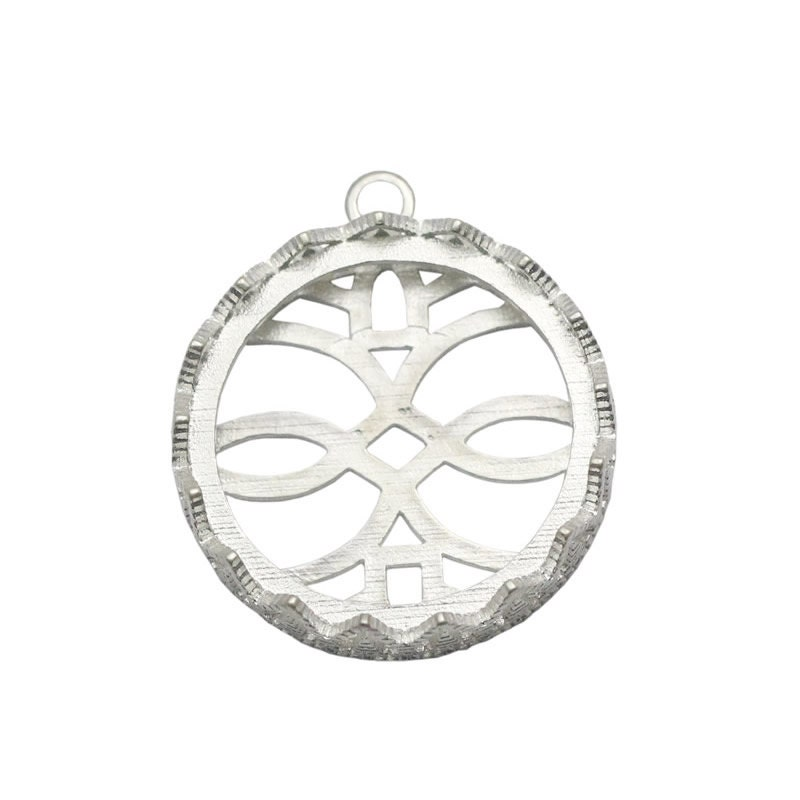 sterling silver pendant trays bezel cups hollow sterling