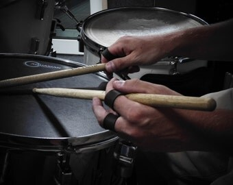 Leather rings for drummers (set of 4pcs)