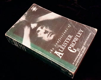 The Confessions of Aleister Crowley occult book OUT OF PRINT!