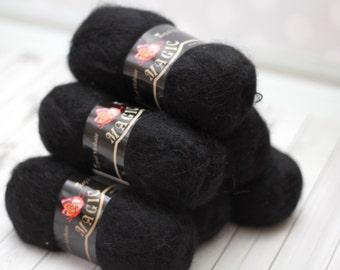 Mohair yarn 6 skeins lot