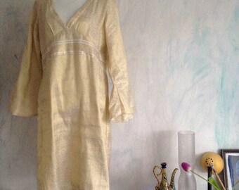 Gold dress in size Xl