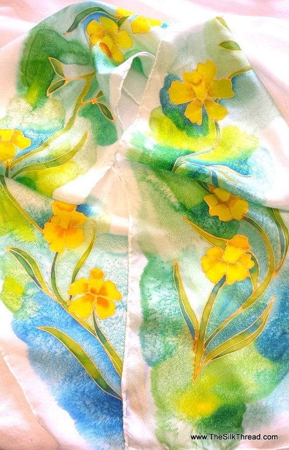 design your own beautiful silk scarf by