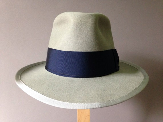 d8b7f4cf5293f Vintage Royal Stetson Whippet Bowler. The Wool Whippet. Reserved  Stevevintage 1950s Stetson Whippet By
