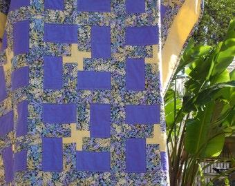 Flower Garden Lap Quilt