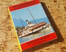 Vintage Snapshots of Lake of Lucerne, Switzerland
