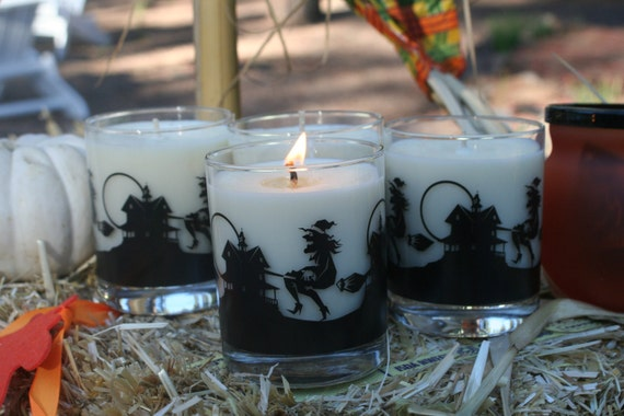 All Hallows Eve 8 oz Soy Candle in Halloween Jar