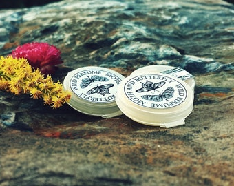 Solid Perfume samples Eco Friendly 100% Nature Fragrance Samples Set of 4 plus more, Your Choice