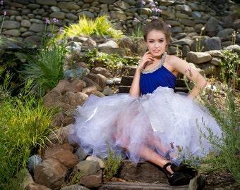 Womens tutu skirt adult tutu tea length tutu sewn tutu engagement photos senior portraits wedding bridal tutu photo prop wedding tutu
