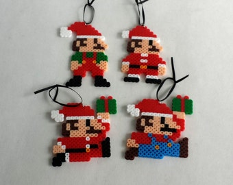 Mario Christmas Ornaments
