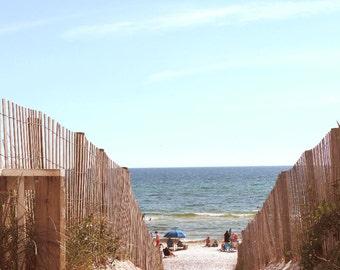 Beach Photography 8x10 Coastal Decor Seaside Florida Photo by Prchal Art Studio