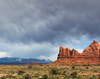 Moab, Utah, Wall Art, Storm, Photography, Fine Art Photography, Rocks, Arches National Park, Landscape