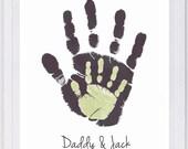 Digital File Fee for Helen Layered Handprints Wall Art 2 Prints 803A_pap