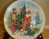 Vintage  3-pc collectible Betsy Ross Series Plates
