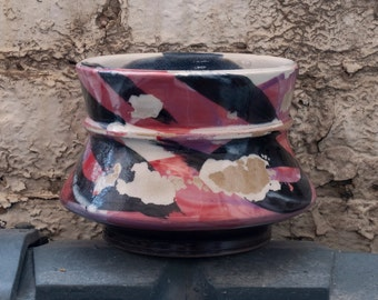 Red Graffiti Bowl