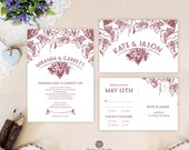 Winery wedding invitation...