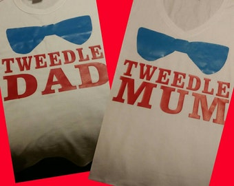 Alice and wonderland, birthday, Tweedledee, for the moms or the dads.