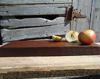 Black walnut cutting board - Wood cutting board - Walnut cutting board - Gifts for her - Wedding gift - Kitchen decor - Black walnut wood