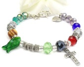 Life of Christ Bracelet, Faith in Christ, Story of Jesus, Christian Gift A103