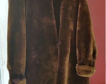Vintage Beaver Jacket