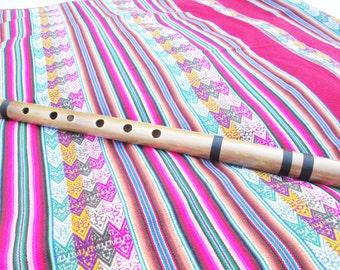 Professional Perutreasure Quenacho Flute From Peru - Item in USA -Tuned D (RE) Case Included