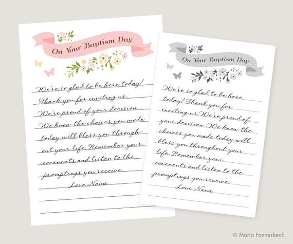 Baptism Card Messages: What to Write in a Baptism Card