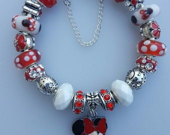 Authentic Pandora Bracelet Minnie Mouse Bracelet